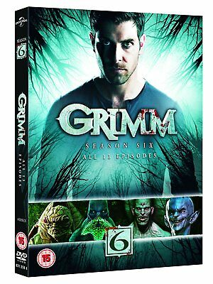 Grimm Complete Season 6 Collection New Release Dvd Box Set 4 Disc R4 New&sealed