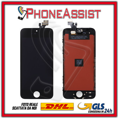 DISPLAY LCD VETRO TOUCH Apple iPhone 5 SCHERMO ORIGINALE TIANMA Nero