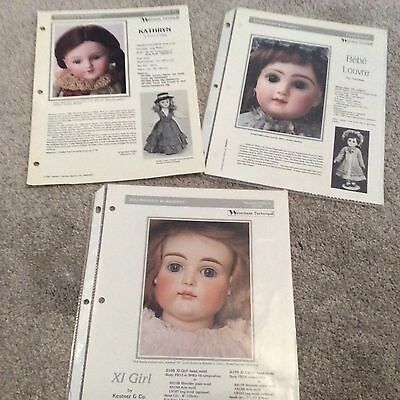 SEELEY DOLLMAKER'S WORKSHEETS-- French & German