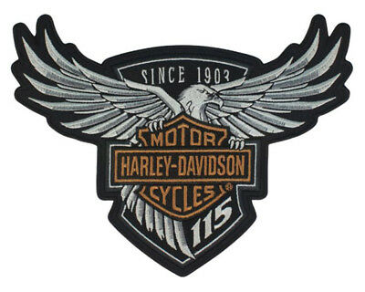 Harley Davidson 115th Year Anniversary Eagle Emblem Patch Limited Edition