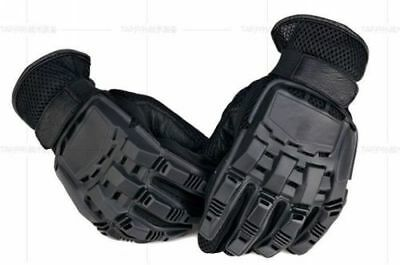 Men Military Airsoft Army Police Combat Tactical Gloves Knuckle Protection Black