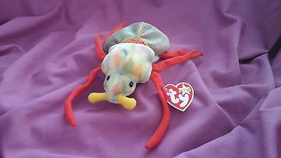 TY beanie babies Scurry the beetle