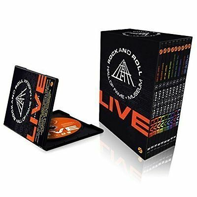 Rock and Roll Hall of Fame 9 DVD Box Set Aerosmith BB King Issac Hayes Queen U2