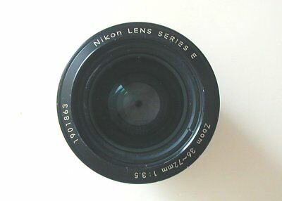 Nikon Series E 36-72mm F3.5 AI-S Zoom Lens. Stock No u7054