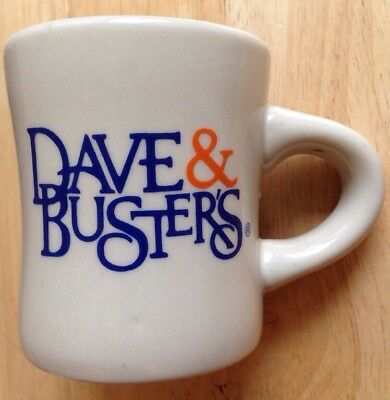 Dave & Busters Restaurant Ware Retro Diner Coffee Mug, New With Tags