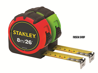 Stanley 8m/ 26' Hi-Vis Tape Measure