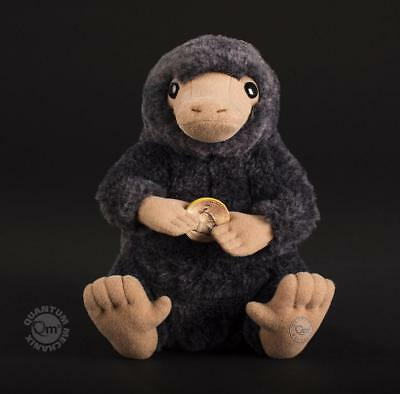 """Harry Potter FANTASTIC BEASTS Licensed DELUXE 8"""" NIFFLER PLUSH w/ Coin LTD Ed"""