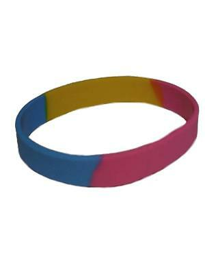 Pansexual Bracelet Silicone Pride New Top GAY Free Delivery!