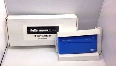 Hellermanntyton 8 Way Loft Box / Home Distribution Unit - New and Boxed