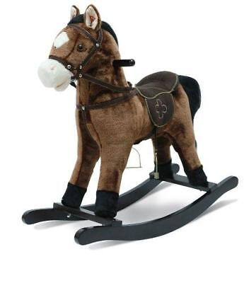 Rocking Horse Joe 46 Cm - Marron Foncé