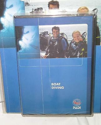 PADI BOAT Diver Speciality Crew Pack # 60171 Manual & DVD - NEW