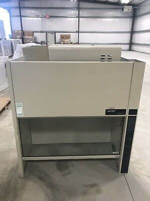 Labconco 2 and 4' Protector Laboratory Fume Hood with Benches - Four total