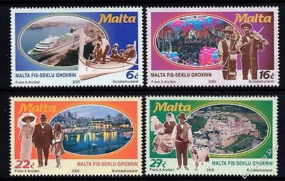 Malta 2000 During the 20th Centenary Complete Set SG 1166 - 1169 Unmounted Mint