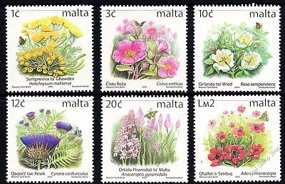 Malta 2000 New Additional Definitives SG 1134, 36, 40, 42, 45, 51 Unmounted Mint
