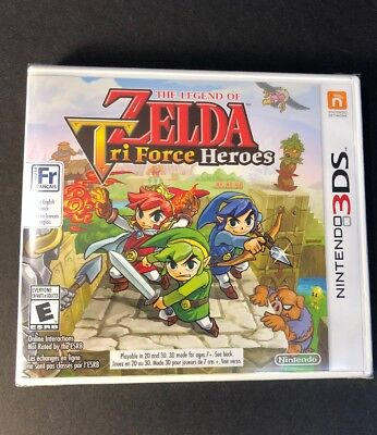 The Legend of Zelda [ Tri Force Heroes ] (3DS) NEW