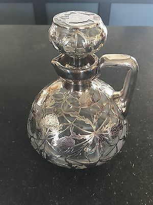 Vintage Silver Plated Decanter