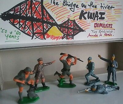The Bridge on the river Kwai - Toy soldiers by Comansi made in Spain