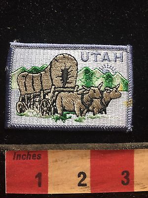 Utah Covered Wagon Old West Patch C754