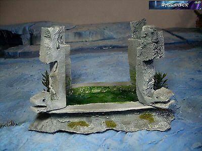 Puddle of Birth Lizardmen Scenery Warhammer,Kings of War,Infinity, Age of Sigmar