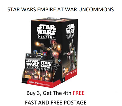 Star Wars Destiny TCG - Empire at War - Choose your Uncommon Card