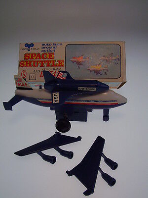 "GSR ROBOT  ""SPACE SHUTTLE B-747"" HONG KONG+WIND UP OK+like NEU/NEW/NEUnBOX !"