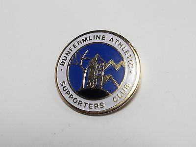 Dunfermline Athletic - Vintage Enamel Supporters Club Badge