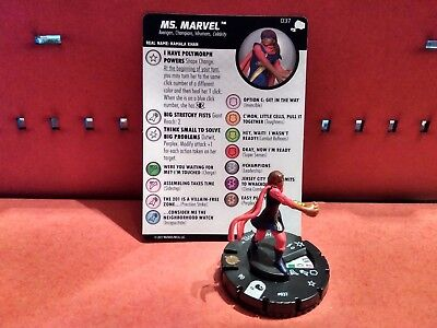 Heroclix - The Mighty Thor  #037 Ms. Marvel