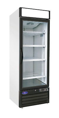 Single Door Glass Freezer Commercial Glass Freezer 23 Cu Ft