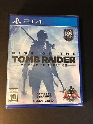 Rise of the Tomb Raider 20 Year Celebration [ W/ PS VR Mode Support ] (PS4) NEW