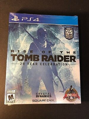 Rise of the Tomb Raider 20 Year Celebration [ Limited Art Book Pack ] (PS4) NEW