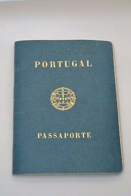1970 Portugal Passport 2 Persons