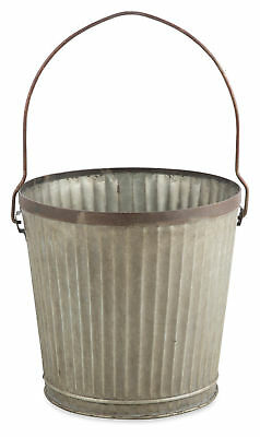 NEW Grooved Iron Planter