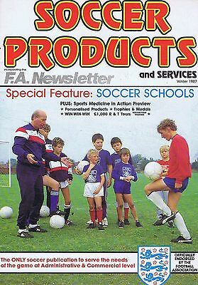 SOCCER PRODUCTS MAGAZINEWinter1987