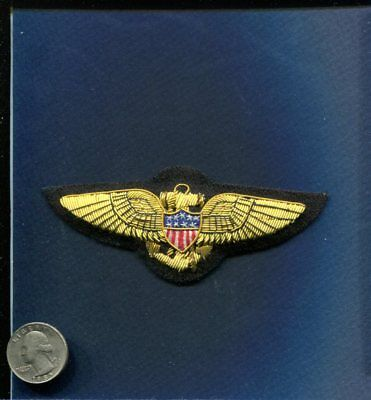 TOP GUN CHARLIE MOVIE JACKET BULLION Naval Aviator Wing US Navy Squadron Patch