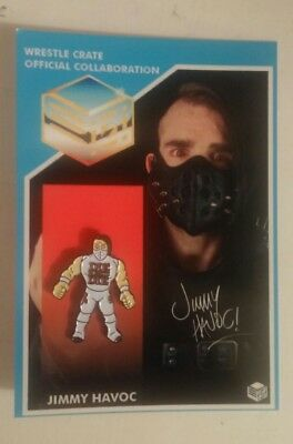 Jimmy Havoc Lapel Pin Badge Progress Wrestling CZW Wrestle Crate