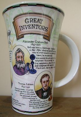 Dunoon Stoneware Mug - Great Inventors