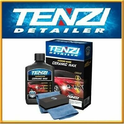 TENZI Ceramic Wax Diamond Gloss Car Coating Protection & microfibre & applicator