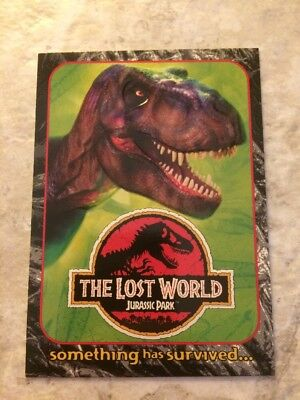 Jurassic Park The Lost World Embossed Promo Card