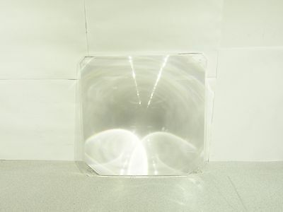"""Fresnel Lens 11"""" x 11"""" from Overhead Projector 8"""" Focal Length Tested Works"""