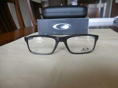 New Oakley Mens Frames- Plank 2.0 (53) Polished Black- Free Shipping!
