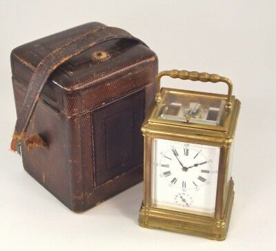 Fine Quality Beautiful Victorian Henry Jacot Gorge Cased Carriage Clock