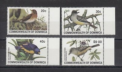 Timbre Stamp 4 Ile Dominica Y&t#672-75 Oiseau Bird Neuf**/mnh-Mint 1981 ~A60