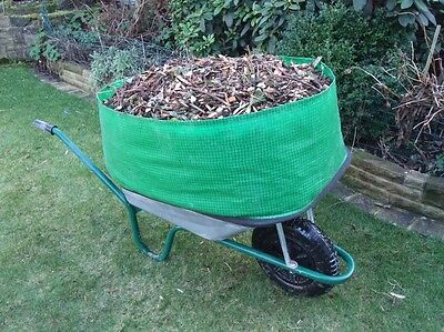 Wheelbarrow Booster Increases Wheelbarrow Capacity By 300%. Simple and effective