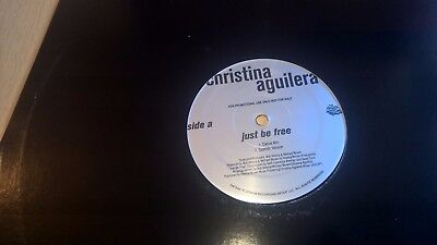 "CHRISTINA AGUILERA - Just Be Free - Promo 12"" Move It / By Your Side"