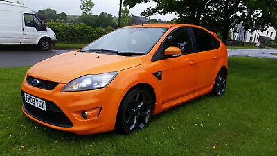 2008 Ford Focus St-3 Facelift Orange 5 Door **cheapest For Mileage And Spec**