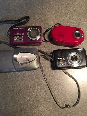 Lot Of 4 Digital Cameras