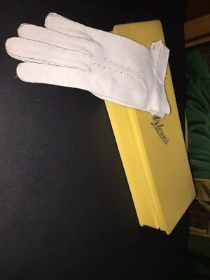Vintage 1950s Pale Grey Gloves Francois NWT