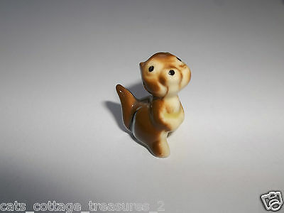 Hagen Renaker Miniature Chipmunk Baby Seated Retired Made in America