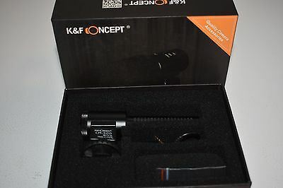 K&F Concept CM-500 Camera Microphone Professional KF10.001 used
