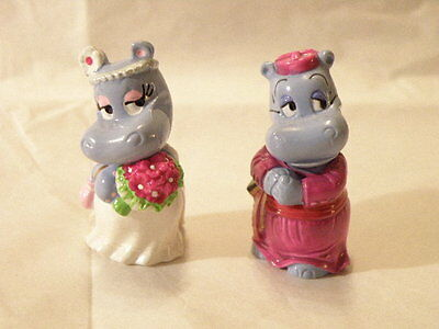 Kinder Surprise 1999 Happy Hippos Wedding Marriage 2 Figures Nice See Pictures